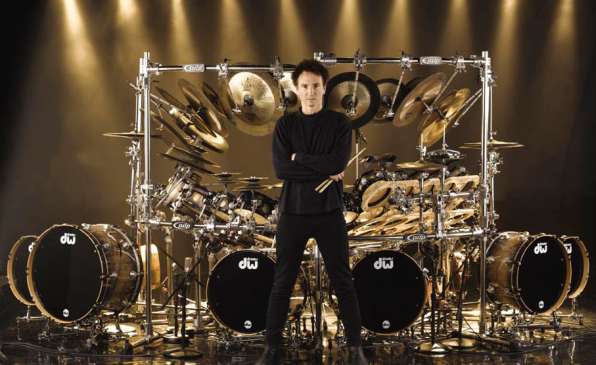 Don't miss a chance to see the drum guru from USA - Terry Bozzio!