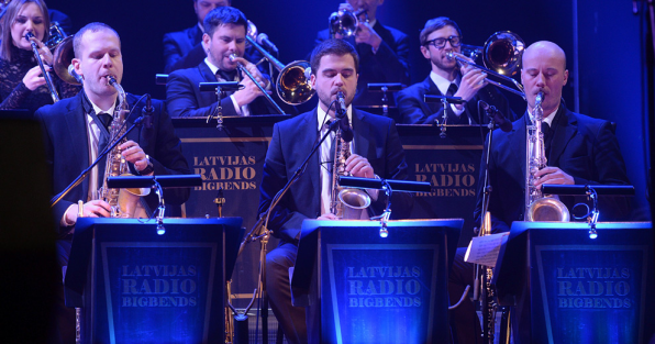 Latvian Radio Big Band, Maestro Raimonds Pauls and soloists perform in Moscow