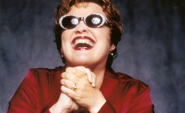 "Jazz legend Diane Schuur performs at the festival ""Rigas Ritmi""!"