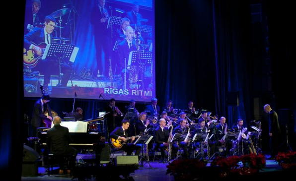 Latvian Radio big band together with Jojo Mayer!