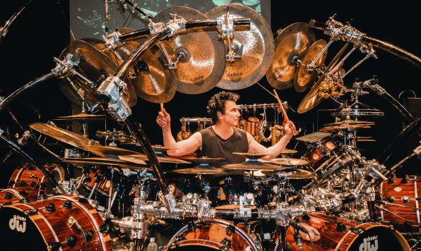 For the first time in Latvia drum guru from USA - Terry Bozzio!